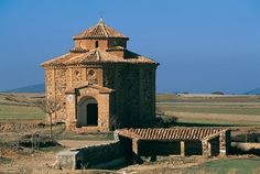 SPAIN / Architecture and monuments / Cathedrals, Churches.. Loscos. Teruel (Spain). Ermita de santa Águeda