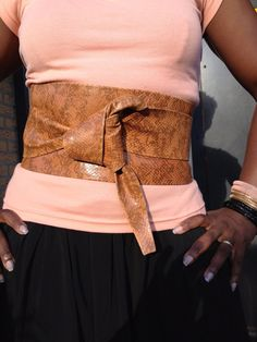 www.etsy.com/listing/164370235/leather-animal-design-obi-belt-waist