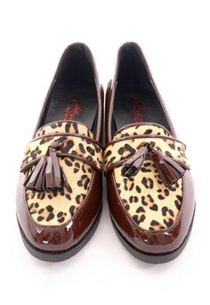 Leopard Pattern Tassel Loafer by regina