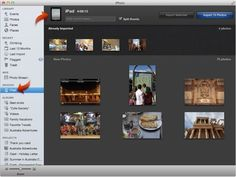 How To Import Photos And Videos On iPad Mini - P^i  With the iPad Camera Connection Kit (sold separately), you can import photos and videos directly from a digital camera, another iOS device with a camera, or from an SD memory card.