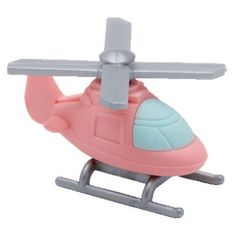 """Ty Beanie Eraserz - Helicopter Pink by Ty. $3.95. Iwako Japanese Puzzle Eraser. For Ages 3 and Up. Approximately 1.5"""". Ty Beanie Eraserz are popular Japanese Puzzle Erasers that come apart and can be put back together.  Collect them all."""