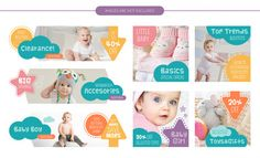 Baby design Vectors, Photos and PSD files Cool Facebook Covers, Facebook Cover Design, Facebook Cover Template, Banner Store, Sale Banner, Designer Baby, Bebe Vector, Certificate Design Template, Design Templates