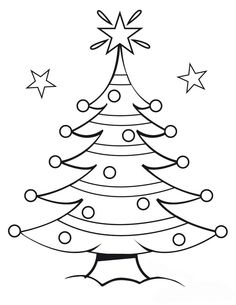 Kids Under 7: Pine Trees coloring pages