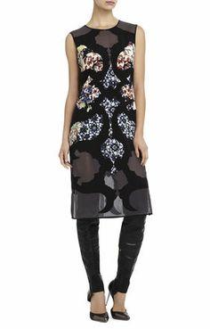 Runway Nikola Silk Dress | BCBG