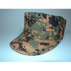 USMC GARRISON HAT WOODLAND DIGITAL