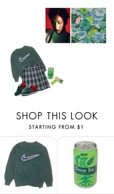 """pour up"" by sakurablossoms ❤ liked on Polyvore featuring NIKE"