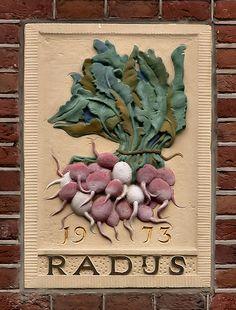 Gevelsteen RADIJS | by Vereniging Vrienden van Amsterdamse Gevelstenen