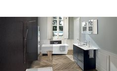 Discover the Home Design by SCHMIDT! Design your kitchen, wardrobe, cupboard or bathroom unit with the specialist in bespoke furniture. Custom Made Furniture, Bespoke Furniture, Sink Countertop, Countertops, Bathroom Furniture Design, Bathroom Vanity Units, Design Your Kitchen, Bespoke Kitchens, Double Vanity