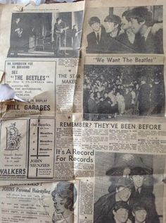Dere, Sunderland, The Beatles, Event Ticket, Past, Places, Past Tense, Lugares