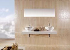 Bathroom Design Ideas - Photos of Bathrooms. Browse Photos from Australian Designers & Trade Professionals, Create an Inspiration Board to save your favourite images. Garden Photos, Inspiration Boards, Bathroom Ideas, Bathrooms, Tile, Home And Garden, Community, Mirror, Furniture