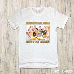 c314b8f95 Cincinnati Chili Enjoy It With Crackers Unisex T-Shirt Cincinnati Chili,  Crackers, Biscuit