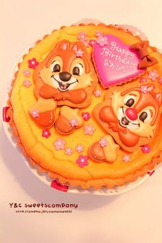Chip n Dale BD cheese cake!