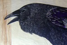 """Crows Ravens:  """"The #Raven,"""" by Val."""