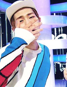 SHINee Onew (gif) i love those contacts - I don't care if I've already pinned it, 'He's worth it'