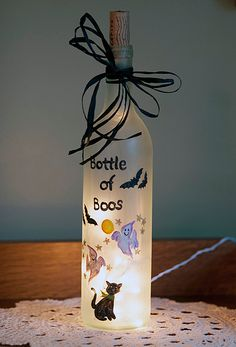 bottle of boos/// somewhat of a tutorial