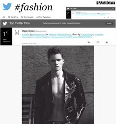 malan breton  | fashion most retweeted on twitter malan breton playbill magazine