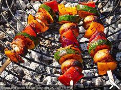 Schaschlik vegetarisch, ein raffiniertes Rezept aus der Kategorie Gemüse. Bewertungen: 97. Durchschnitt: Ø 4,4.