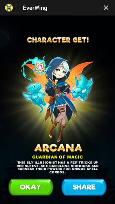 The cloning trickster Arcana