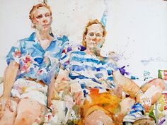 I wonder what took me so long to find Charles Reid's watercolor paintings. His color combinations and fluid brushstrokes are superb, mesmerizing. I could easily lose hours of the day just looking at his art. It is really special, and it reminds me of why I started Scene 360 many years ago: to feature outstanding.... http://illusion.scene360.com/art/64871/charles-reids-masterful-watercolor-paintings/