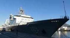 Chinese Navy's Taihu replenishment shiip
