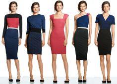 Los vestidos entallados a la cintura con motivos o colores destacados en el área te favorecerán