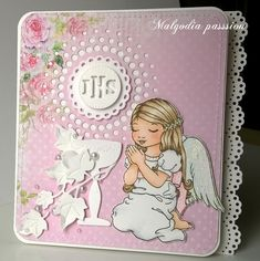 First Communion Cards, Cute Cards, Scrapbook, Stamps, Passion, Seals, Pretty Cards, Scrapbooking, Postage Stamps
