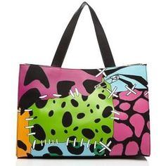 Moschino Cheap & Chic Multicolored Dino Print Tote - Sale