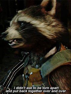 Rocket Raccoon, Racoon, Gardians Of The Galaxy, Marvel Cinematic Universe, Marvel Avengers, X Men, Panda, Characters, Superhero