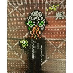 Ood Doctor Who perler beads by  halilana