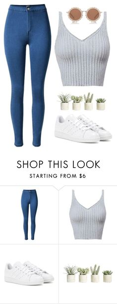 """Freely"" by laurateplo ❤ liked on Polyvore featuring adidas, Allstate Floral and House of Holland"