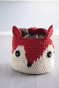 Lily Sugar 'N Cream Foxy Stash Basket