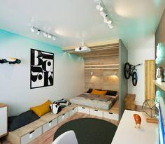 KEFIR HOME : Dormitorios de estilo minimalista de IK-architects