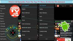 Rabbit TV Plus Apk For Watch Movies On-demand and TV Shows On Android   Live TV Android Apk[ Iptv APK] : Rabbit TV Plus Apk- Movies and TV Show APK- In this apk you canAccess to 250000 TV Episodes 100000 Movies 50000 Radio Stations.Watch Live Channels(sports music news and much more)  movies on-demand(from ABC NBC CBS Fox History A&E and many more) and full episodes from the top TV shows.OnAndroid Devices.  Rabbit TV Plus Apk  Download Rabbit TV Plus Apk   Download Android APK - APP[…