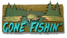 woodcrafted gone fishing sign Gone Fishing Sign, Fishing Signs, Wood Pallets, Pallet Wood, Cozy Basement, Love Eat, Vintage Fishing, Art Projects, Hunting