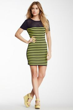 Romeo & Juliet Couture - Striped Knit Dress