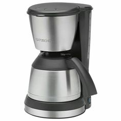 Machine à café Clatronic KA 3563 avec thermo acier Filter Coffee Machine, Drip Coffee Maker, Coffee Cups, Stainless Steel Thermos, Great Coffee, Coffee Beans, Brewing, Kitchen Appliances, Ebay