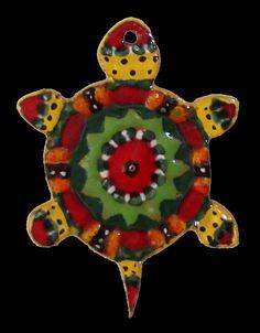Ceramic Turtle Ornament