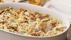 Bacon and Cheddar Green Bean Casserole Is Here To Take Thanksgiving To The Next Level