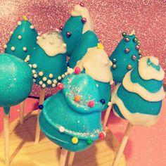 Whoville inspired cake pops