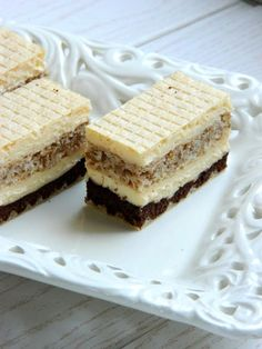 Taste of life: Sedmo nebo Sweets Recipes, Baking Recipes, Cookie Recipes, Cake Cookies, Cupcake Cakes, Hungarian Desserts, Kolaci I Torte, Torte Cake, Croatian Recipes