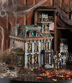 Department 56 Snow Village Halloween Mordecai Mansion and Accessory #Dillards