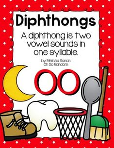 Diphthongs {oo} - This pack is a great resource when teaching your students the -oo diphthong (oo as in moon)! It can be used to introduce or review the -oo diphthong. The practice sheets have varying skill levels, so you may choose what level a student needs (differentiated instruction strategies).