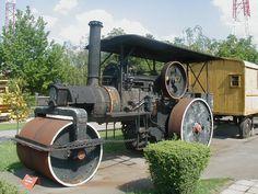 Józsi, az úthenger a Vasúttörténeti Parkban robog részlet