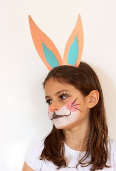 DIY - Maquillage Lapin par Peek it Magazine