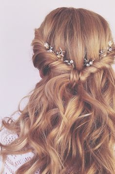 FESTIVAL BRIDES | Festival Brides Love: Bridal Hairpieces by Feather and Coal