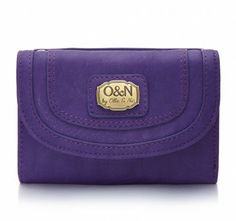 A compact purse with our O&N branded logo plaque on the front. This purse has seven credit card slots and one clear I.D. window plus a further four slip pockets, so you will have plenty of room for all your essentials. This purse is practical for any day of the week with a zip pocket on the back for your coins, ideal when you're on the go.  Features:  Seven credit card slots  One clear I.D. window     Lin...