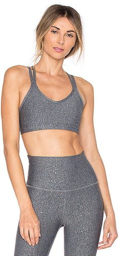 bc25ffa65cc59 Beyond Yoga Double Back Alloy Sports Bra - afflink Yoga Fitness