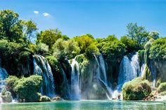 Amazing Kravice Waterfall in Bosnia and Herzegovina by Nataliia Kulibaba on 500px