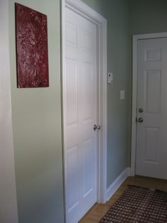 Love this shade of green! Benjamin Moore: Grecian Green
