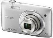 Nikon Coolpix S3500 20.1MP Point-and-Shoot Digital Camera (Silver) for Rs.5299 - Amazon (MRP Rs.7950)